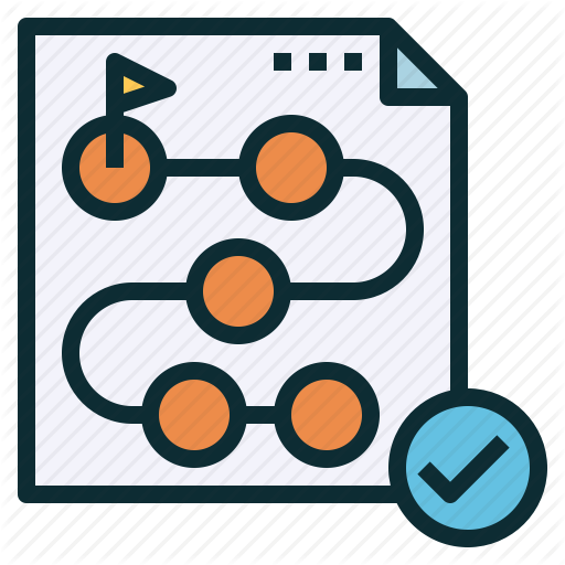 Establish, Method, Path, Plan, Program, Timeline Icon