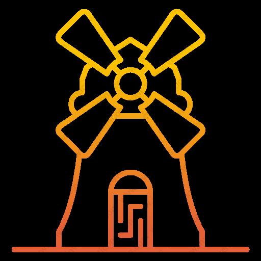 Download Estate,farm,windmill Icon Inventicons