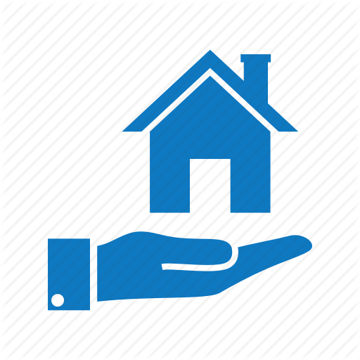 Hand, House, Property, Read Estate, Sell Icon