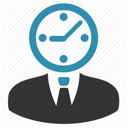 Clock, Estimate, Manager, Time, Worker Icon