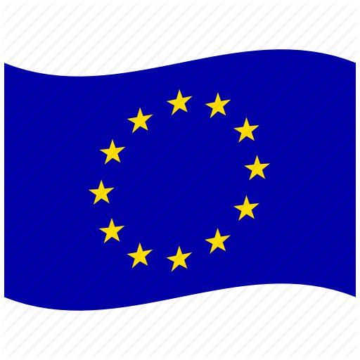 Eu, Euro, Europe, European Flag, European Union, Stars, Waving