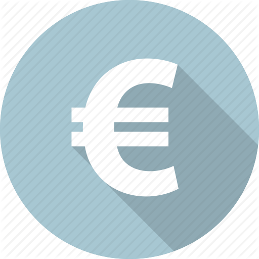 Euro, Pay, Sales, Sell, Shopping, Sign Icon Icons Flat Style