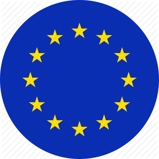 Euro, Europe, European, Flag, Flags Icon