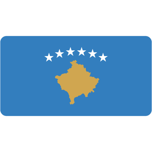 Kosovo Icon Flat Europe Flag Iconset Custom Icon Design