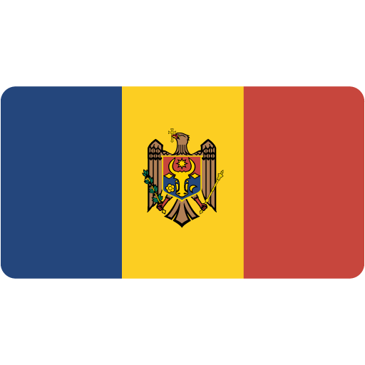 Moldova, Flag, Flags Icon Free Of Flat Europe Flag Icons