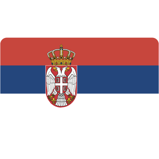 Serbia, Flag, Flags Icon Free Of Flat Europe Flag Icons