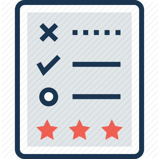 Appraisal, Assessment, Evaluation, Judgement, Rating Icon