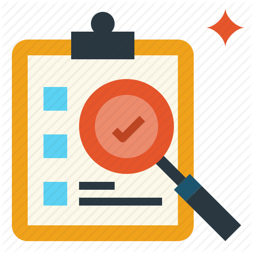 Check, Evaluation, List, Research, Search Icon