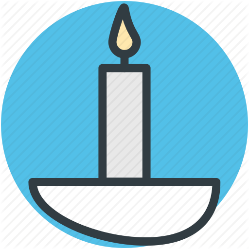 Candle, Candle Burning, Commemorate, Decoration, Event Icon