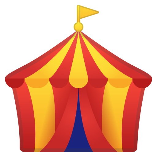 Circus, Tent Icon Free Of Noto Emoji Travel Places Icons