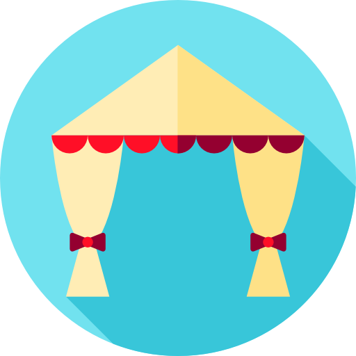 Party, Tent, Wedding, Celebration, Love And Romance Icon