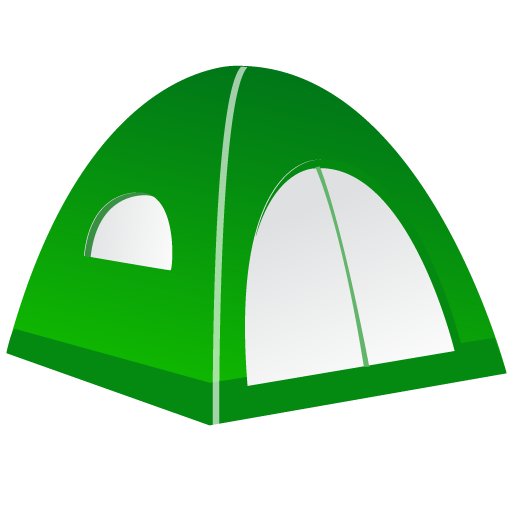 Tent Icons, Free Icons In Fishing Equipment