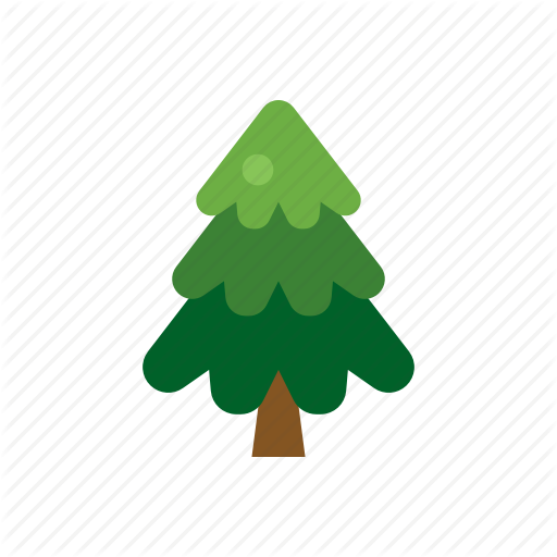 Christmas, Decoration, Evergreen, Green, Pine, Plant, Tree Icon