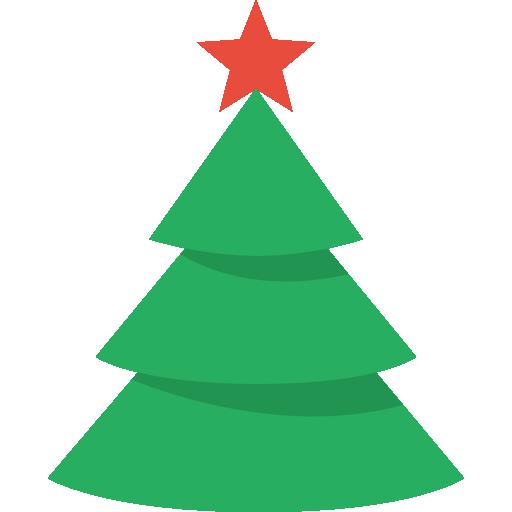 Christmas Tree Icon Christmas Flat Color Iconset