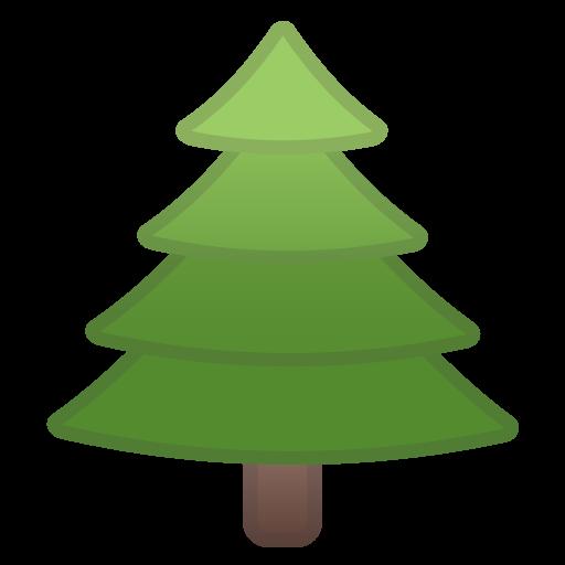 Evergreen Tree Icon Noto Emoji Animals Nature Iconset Google