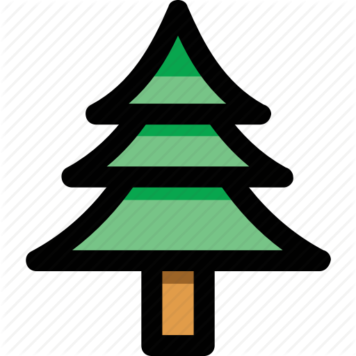 Christmas Tree, Cypress, Evergreen Tree, Fir Tree, Tree Icon