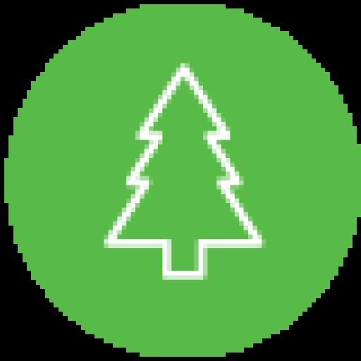Cropped Battle Born Tree Icon