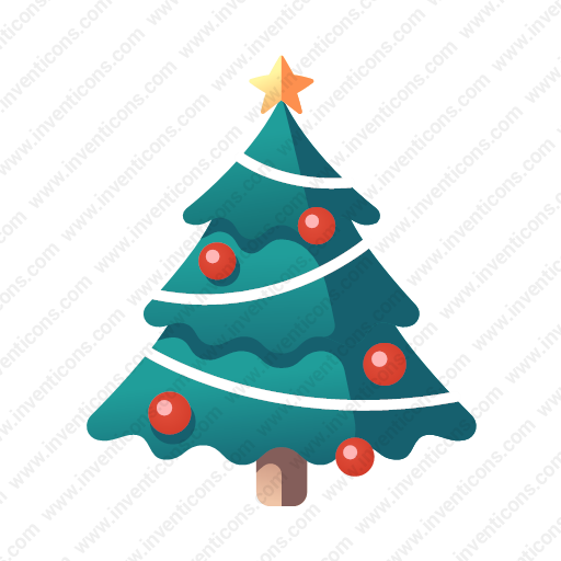 Dorable Christmas Tree Icon Images