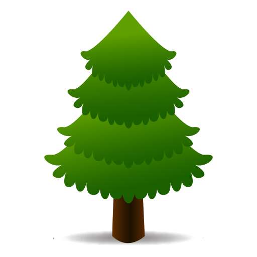 Evergreen Tree Emoji For Facebook, Email Sms Id