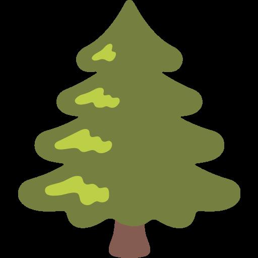 Evergreen Tree Emoji For Facebook, Email Sms Id Emoji