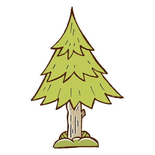 Pinetree Vector Camping Tree Transparent Png Clipart Free