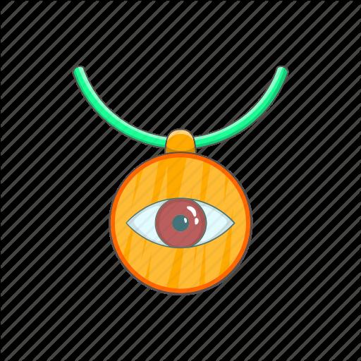 Amulet, Cartoon, Evil, Eye, Protection, Turkey, Turkish Icon
