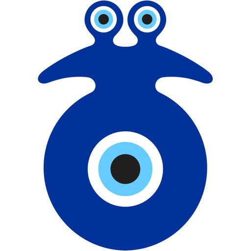Evil Eye Stickers, Nazar Protection, Set