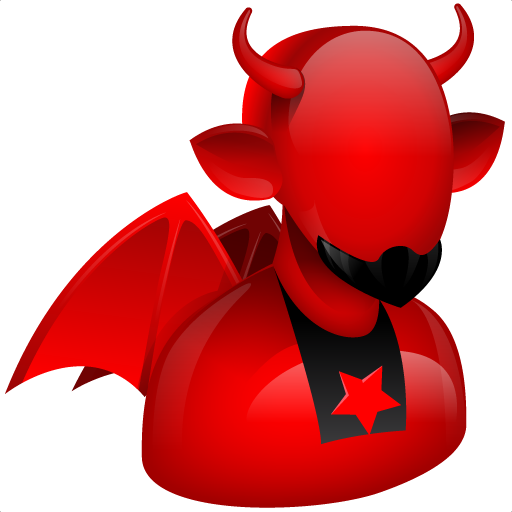 Devil, Evil, Fire, God, Hell, Problem, Red Icon