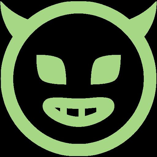 Guacamole Green Evil Icon