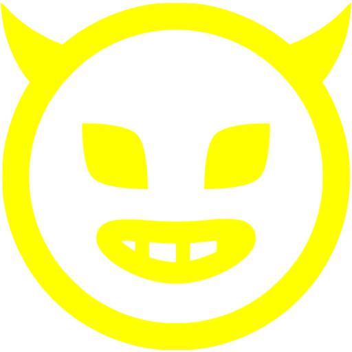 Yellow Evil Icon