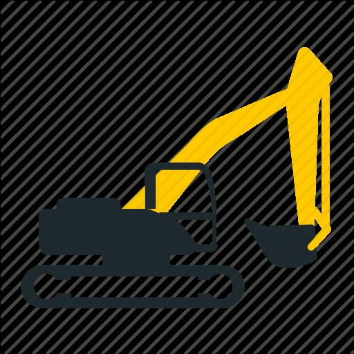 Dig, Equipment, Excavator, Mining Icon