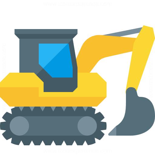 Iconexperience G Collection Excavator Icon