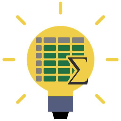 Cropped Lightbulb Spreadsheet Logo Icon Filled How To Excel