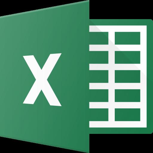Brand, Brands, Excel, Logo, Logos Icon