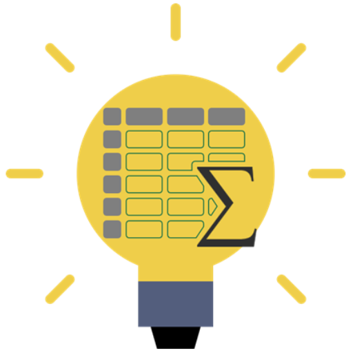 Cropped Lightbulb Spreadsheet Logo Icon How To Excel