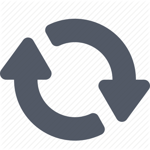 Arrow, Curved, Exchange, Reverse, Synchronize Icon