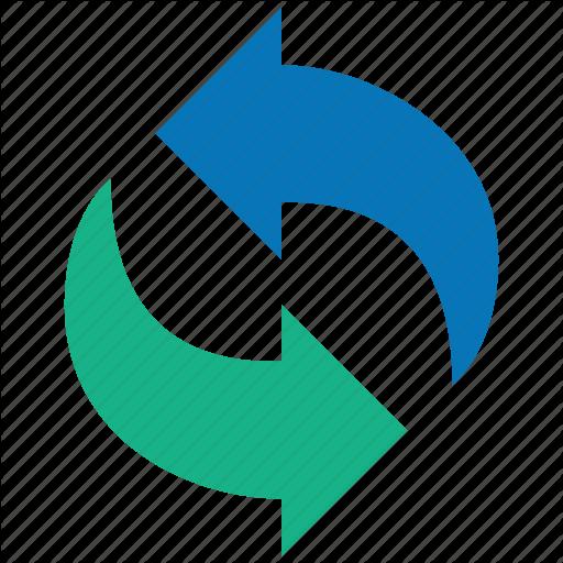 Exchange, Refresh, Reload, Sync, Synchronize, Update, Upload Icon
