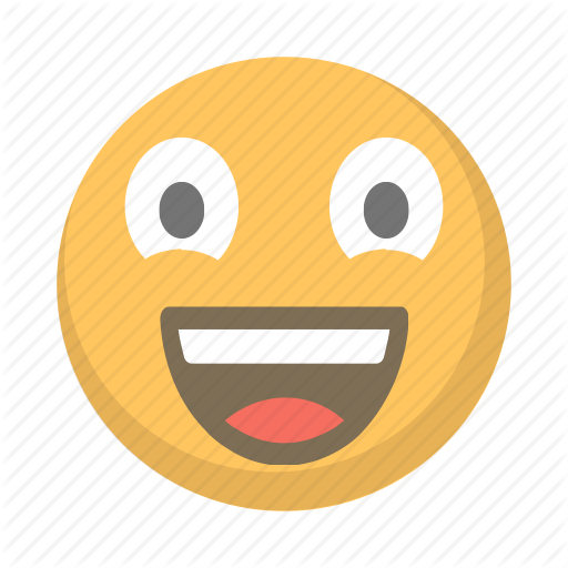 Cheer, Emoji, Excited, Face, Happy Icon