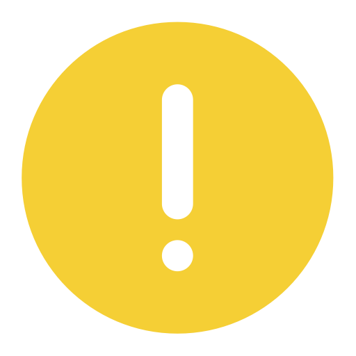 Yellow Exclamation Mark, Exclamation Mark, Id Badge Icon With Png