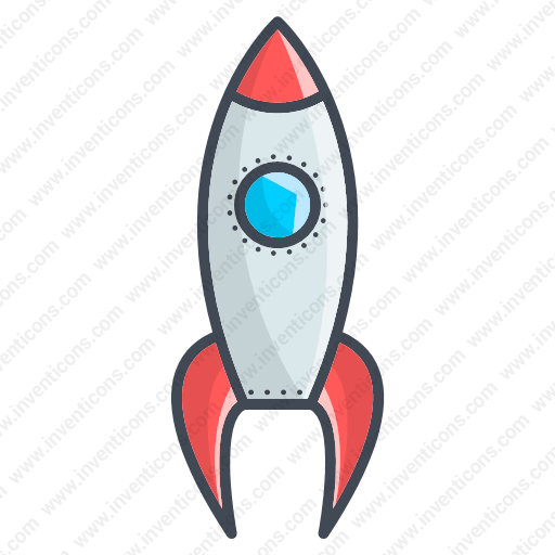 Download Startup,rocket Icon Inventicons