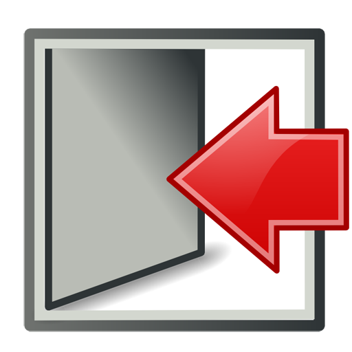 To Exit System Icon Free Icons Download
