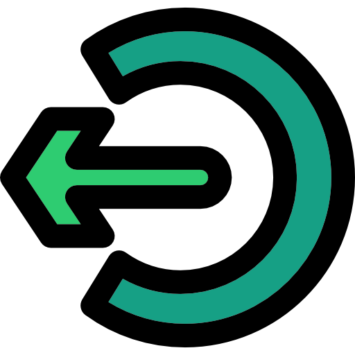 Multimedia Option, Exit, Signs Icon