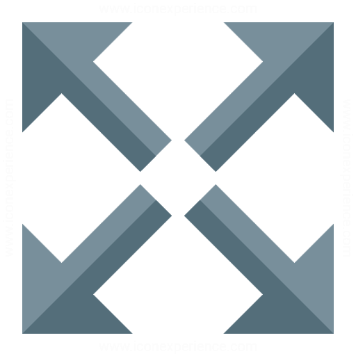 Iconexperience G Collection Arrow Spread Icon