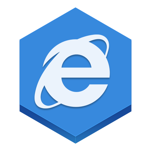 Internet Explorer Icon Hex Iconset