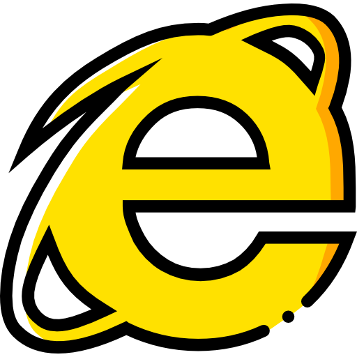 Internet Explorer Icon Social Media New Smashicons