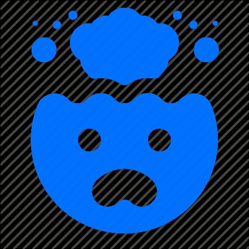 Brain, Emoji, Emoticon, Explosion Icon