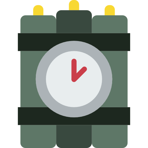 Dynamite, Explosive, Bomb, Explosion Icon