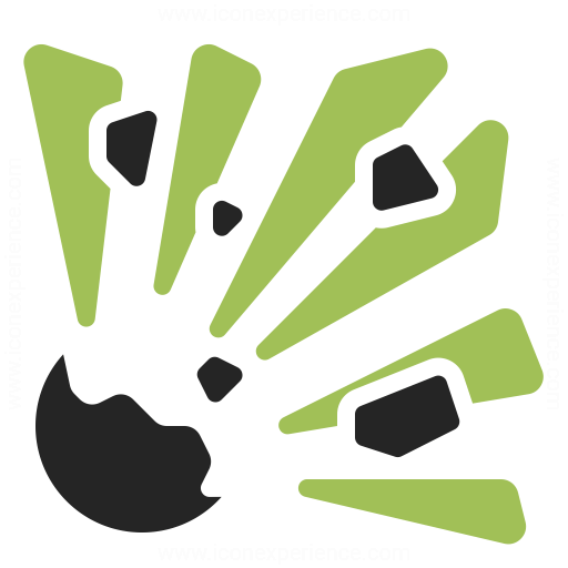 Explosion Icon Iconexperience