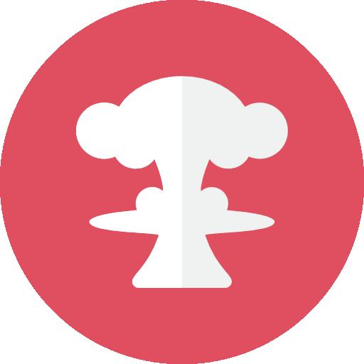 Nuclear Mushroom Icon Kameleon Iconset Webalys