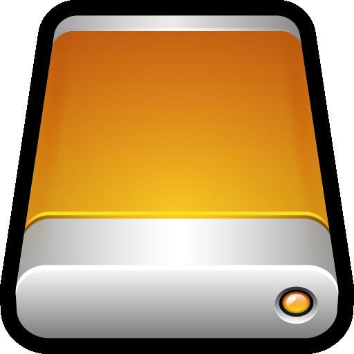Device External Drive Icon Hard Drive Iconset Hopstarter